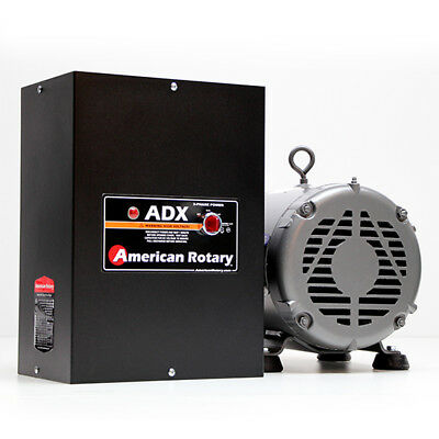 American Rotary ADX25   25HP 240V Wall Mount ADX Series Rotary Phase Converter