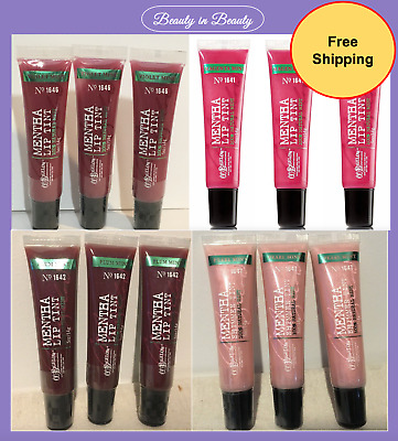 Lot of 3 Bath & Body Works C.O. Bigelow Mentha Shimmer Lip Tint Pick Shade New