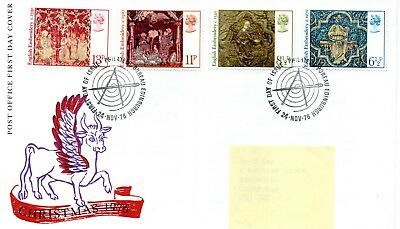 GB - FIRST DAY COVER - FDC - COMMEMS -1976- CHRISTMAS  - Pmk PB