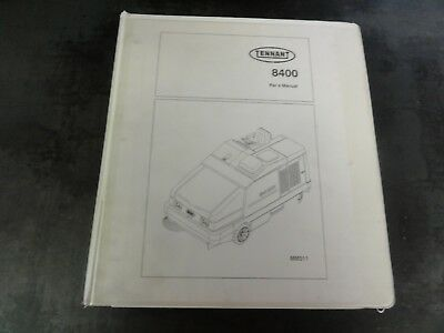 Tennant 8400 Sweeper Parts Manual   MM311