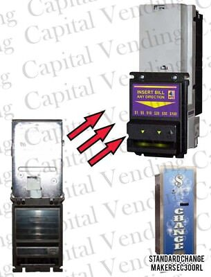 Drop-In Pyramid 7000 Validator ($1-$20) for Standard Change Makers MC Hoppers