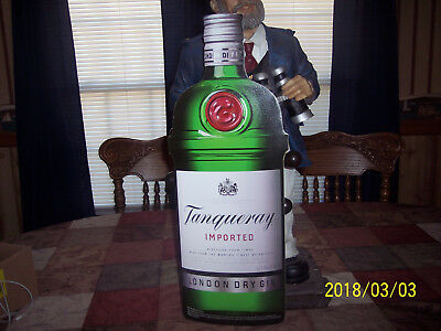 Tanqueray Sign Shaped Like The Bottle