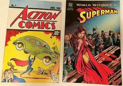 World Without Superman & Action Comics 1