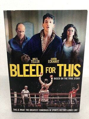 Bleed for This DVD New Sealed w/Slipcover Aaron Eckhart w/Bonus Features