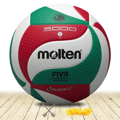 Molten Volleyball V5M5000 Official Size 5 Ball Indoor Outdoor PU Leather Game