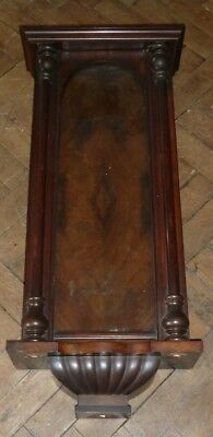 Large Vienna wall clock case c1880 to restore - no movement