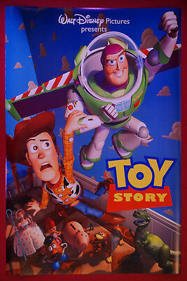 Disney Toy Story Buzz Lightyear Woody Rex Movie Picture Poster 24X36 NEW
