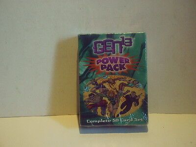 "Gen 13 ""Power-Pack"" Complete 50-Card Set - Aegis/Wild Storm 1998 - OVP"