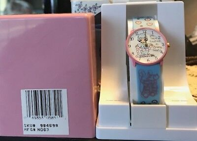 """Precious Moments wrist watch """"You Have Touched So Many Hearts""""Rare Rare Rare!!!"""