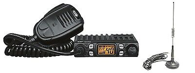 CRT ONE N AM FM Multistandard CB  RADIO + MICRO 30 MAG + FREE CIGARETTE LIGHTER
