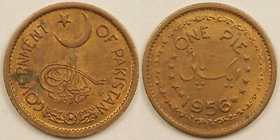 Pakistan  1 Pie  1956