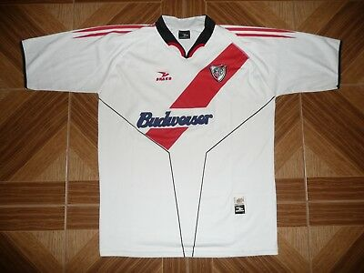 Vintage River Plate Football Jersey Argentina Shirt HOME Maglia