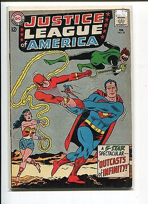 JUSTICE LEAGUE of AMERICA 25 VG-  1964