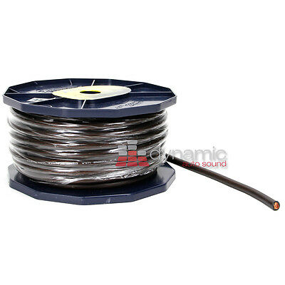 xScorpion GW4.80BK 80 Ft. Spool 4 Gauge AWG Amp Expert Link OFC Ground Cable
