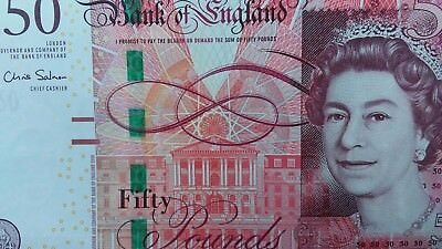 Great Britain 50 Pounds United Kingdom England Current Currency