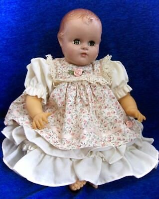 Vintage Madame Alexander Baby Doll In Darling Tagged Hildegard Gunzel Outfit