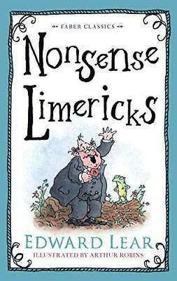 Nonsense Limericks (Faber Children's Classics) by Lear, Edward | Hardcover Book
