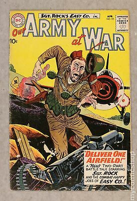 Our Army at War #93 1960 GD+ 2.5