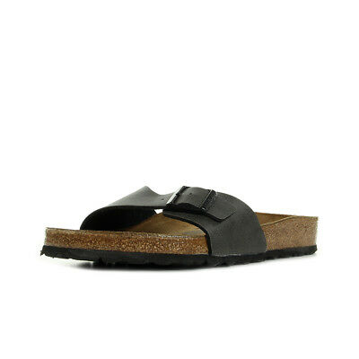 Sandales Nu Pieds Birkenstock homme Madrid Pull up taille Anthracite