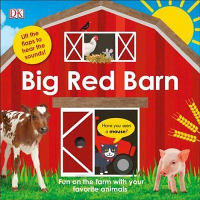 Big Red Barn by Dorling Kindersley Publishing Staff (2017, Board Book)