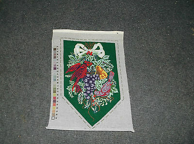 Needle Treasures Christmas Banner Needlepoint