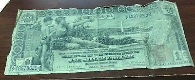 1896 Large Educational One Dollar Silver Certificate
