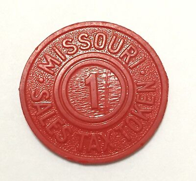Vintage 1930's - 60's Missouri Tax Token