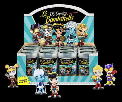 Cryptozoic Dc 'lil Bombshells Series 2 Sealed Blind Can Pack Case Of 12 Ty1028