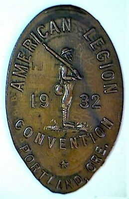 old PORTLAND ORE 1932 AMERICAN LEGION CONV 1924-S elongated cent penny ORE-POR-2