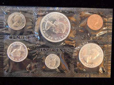 1964 Canada PL set 1.1 ounce of silver  NO reserve! (BK4)