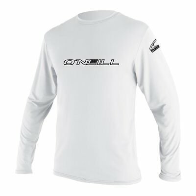 O'Neill Rash Tee Rash Guard Lycra Skins BASIC Longsleeve UV-Shirt White