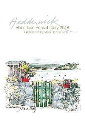 Hebridean Pocket Diary 2018 by Mairi Hedderwick | Hardcover Book | 9781780274348