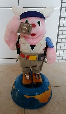 OSTERN Duracell Hase Bunny Globetrotter
