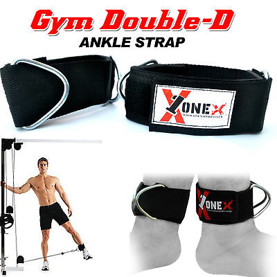 Ankle/Foot Strap Gym Training Cable Machine Attachment Fitness Weight Lifting St