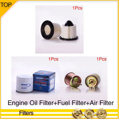 Pronto-Engine Oil+Fuel+Air Filter 3PCS For 1989-1990 JEEP CHEROKEE L6 4.0L