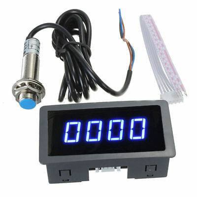 Digital Frequenz Tachometer Auto Bewegungs Geschwindigkeits Messinstrument RPM