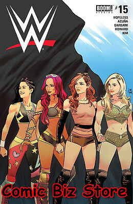 Wwe #15 (2018) 1St Printing Mora Cover A Bagged & Boarded Boom Studios