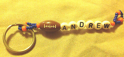 Boys Or Men's Personalized Keychain Or Zipper Pull With The Name Andrew-New