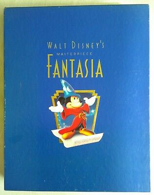 Disney Fantasia limited commemorative Edition (Lithographie, CD, VHS)