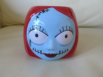 Very Rare Vintage Disney Tim Burton Nightmare Before Christmas Sally Coffee Mug