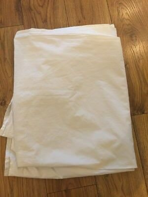 White Company Cotbed Fitted  Sheet
