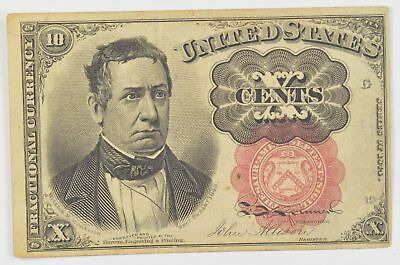 1874-1876 Ten Cents 5th Issue Fractional Currency *702