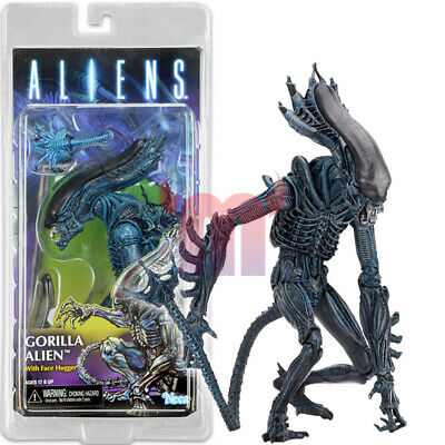 "NECA Gorilla Alien With Face Hugger 7"" Action Figure Aliens Series 10 1:12 New"