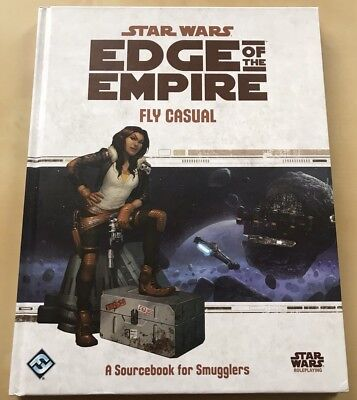 "Star Wars Edge Of The Empire RPG ""Fly Casual"" Career Supplement (FFG)"