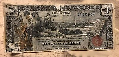1896 Educational Note One Dollar Silver Certificate