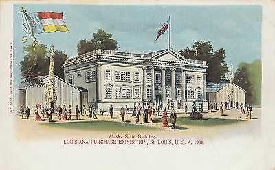 ALASKA STATE BUILDING at the 1904 LOUISIANA PURCHASE EXPOSITION