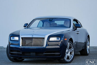 Rolls-Royce Wraith 2dr Coupe 2015 Rolls Royce Wraith Coupe $370,000 MSRP / Only 2,020 Miles