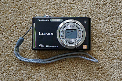 Panasonic LUMIX DMC-FH27P-K 16.1MP Digital Camera - Black - Near Nu