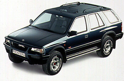 MANUALE OFFICINA OPEL FRONTERA my 1991-1998 WORKSHOP MANUAL SERVICE EMAIL