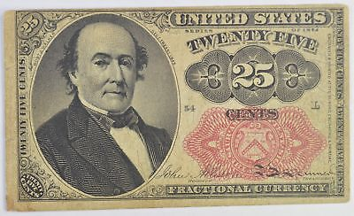 1874 25 Cents 5th Issue Fractional Currency *356